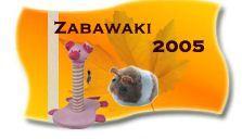 Zabawki dla kotów dorosłych i małych