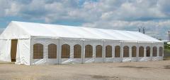 Hale namiotowe bankietowe w standardzie normalnym i podwyższonym na różnego rodzaju imprezy plenerowe, śluby, wesela.