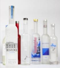 Bottles for edible products