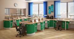 Furniture for dental laboratories