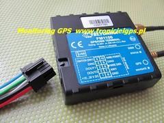 Lokalizator GPS FM1100 kontrola paliwa w niskiej