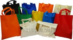 Non-woven polypropylene bags (for shopping, advertising wigofil) 30x15x35 cm black