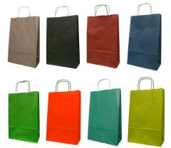 Papiertaschen mit Griffschraube 24x10x36 cm - 5000