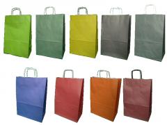 Papiertaschen mit Griffschraube 30x17x44 cm - 100