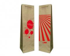 Papírové pytle Ekologické Prestige + 1 + 0 Vytisknout 11x9x40 cm - 10.000 jednotek.