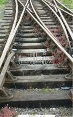 Podkłady kolejowe z drewna