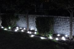 Lampa dekoracyjno - ogrodowa 1/13/DEK z matowymi