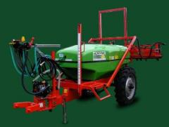 Motor-sprayers mobile