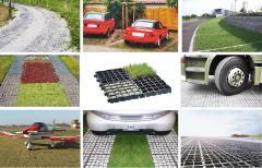 Kratki trawnikowe EcoRaster, kratka ogrodowa