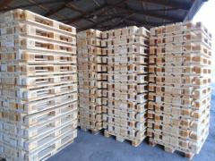Branded euro pallets