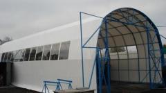 Tent pavilions