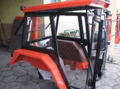 Kompletne kabiny do kombajnów i ciągników