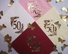 Serwetki 50 lat