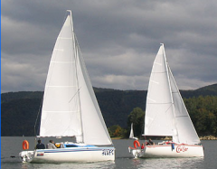 Yachts, motor-sailing