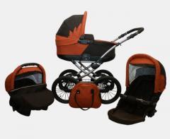 Wózek głęboko - spacerowy (UNIWERSALNY) KÓŁKA ''14