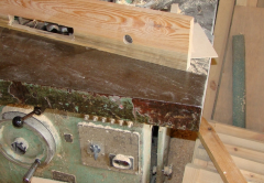 Lathing for roof