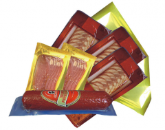 Packets for the vacuum packing of foodstuffs