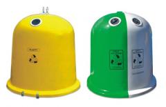 Pojemniki na odpady typu dzwon