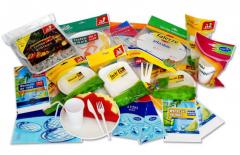 Plastic sachets