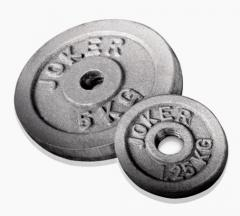 Wheels for dumbbells