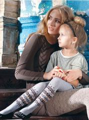 Children's tights elastic
