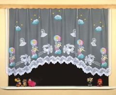 Fabrics for curtains for children