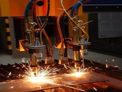 Gas cutting machines
