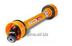 Cardan rollers for agricultural machinery
