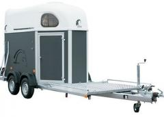 Trailers for transporting of animals