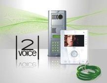 Nowoczesny system videodomofonowy 2Voice.