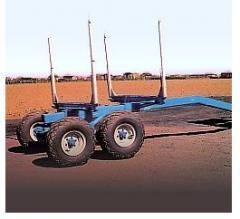 Specjalistyczne przyczepy transportowe do przewozu elementów budowlanych, drzewa, materiałów sypkich i płynnych