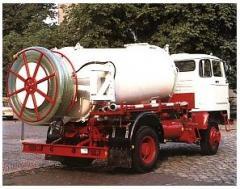 Autocysterna do przewozu wody pitnej i technicznej