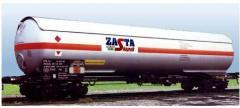 Cysterna kolejowa do transportu LPG