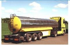 Naczepa do transportu artykułów spożywczych i chemikaliów