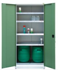 Szafy do przechowywania substancji płynnych
