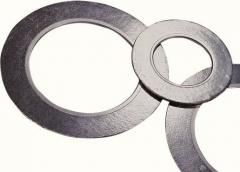 Graphite gaskets and sheets