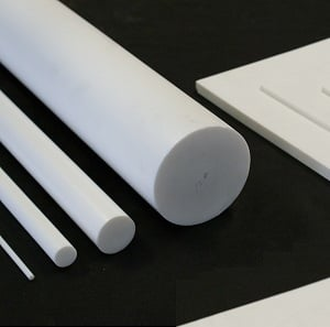 PTFE shapes, sheets and rod/roller