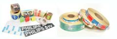 Self-sticking labels