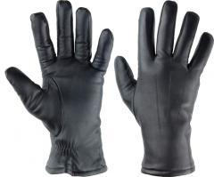 Rękawiczki skórzane zimowe.
