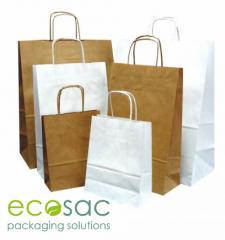 Ekologiczne TORBY PAPIEROWE eco, torebki producent