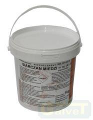 GALVET SIARCZAN MIEDZI (cuprum sulf.) 1kg...