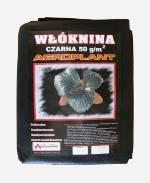 Agrowłóknina czarna 50g/m2 AGROPLANT