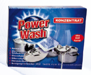 Unphosphatic washing means for dishwashers