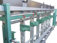 Wood processing presses