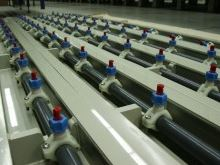 Lines for electroplating of zinc wire
