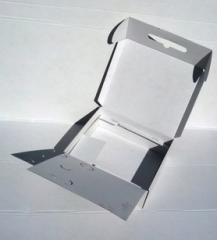Boxes, chromium-ersatz carton