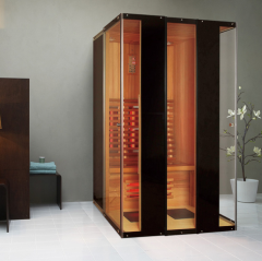 Showers with infra-red sauna