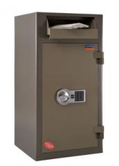 Deposit safes, for exchange offices