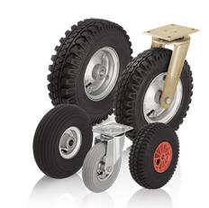 Koła i zestawy kołowe z oponami pneumatycznym