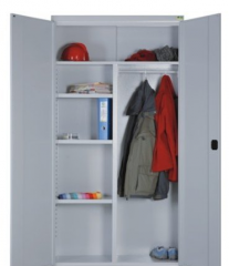 Metal wardrobes for clothes